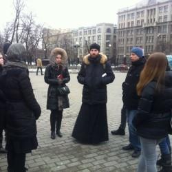 Православная молодежь: как мы прогулялись по земле бывшего Белого города.