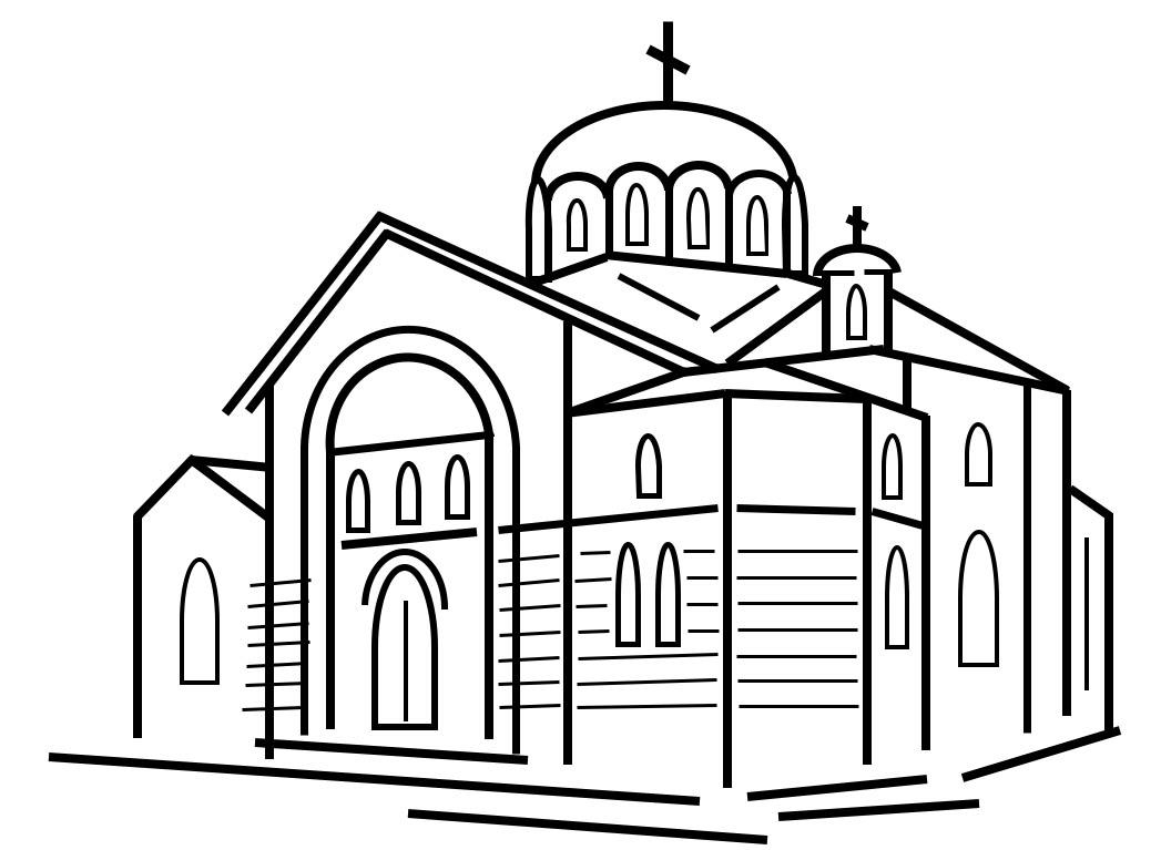 """Храм иконы Божией Матери """"Знамение"""" в Кунцеве"""