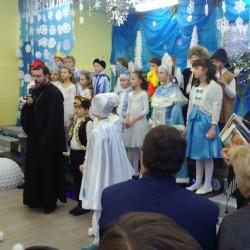Рождественский праздник в школе №590