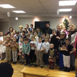 Рождественский утренник в Воскресной школе