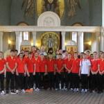 1 августа в храме Знамения в Кунцеве состоялся молебен «Перед началом доброго дела» для Сборной России по гандболу