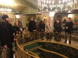 8 октября состоялась экскурсия молодежи в Сретенский монастырь