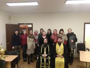 Освящение нового конференц-зала Воскресной школы храма Знамения в Кунцеве