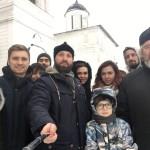 Молодежь храма Знамения в Кунцеве посетила город Волоколамск и его окрестности