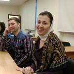 Обсуждение социальной работы храма Знамения в молодежном клубе