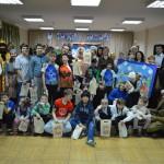 Рождественский спектакль в центре содействия семейному воспитанию «Наш дом»