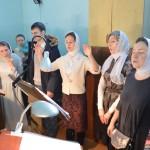 Молодежная литургия в храме Знамения в Кунцеве