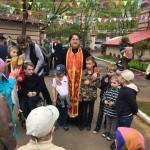 Воспитанники ЦССВ «Наш дом» побывали в храме Знамения на праздник св. Георгия Победоносца