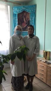 Волонтеры социальной службы прихода посетили Городскую клиническую больницу № 51 5 мая