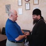 Архиепископ Матфей встретился с директором ПНИ №4 Антоновым Виктором Андреевичем