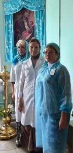 Больничное служение волонтеров храма Знамения