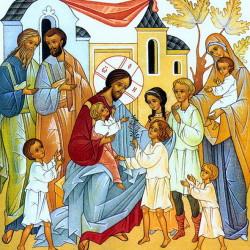 Христос-и-дети