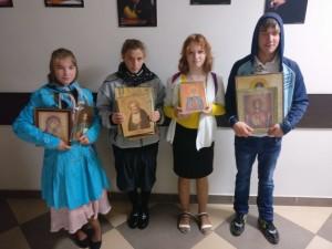 Воспитанники ЦССВ «Наш дом» посетили храм Знамения  16 сентября