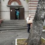 Социальная служба храма Знамения оказала помощь фонду «Добрые вещи»