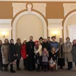 Молодежь храма Знамения побывала на экскурсии по центру столицы