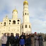 17 ноября состоялась экскурсия молодежи в храмы Кремля