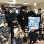 Поздравление воспитанников Центра содействия семейному воспитанию «Наш дом» с Рождеством Христовым