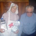 Адресная доставка Крещенской воды пожилым людям