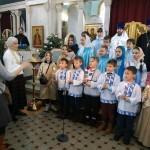 Рождественский концерт в храме Знамения в Кунцеве
