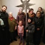 Святочные Рождественские поздравления пожилых одиноких прихожан