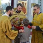 Молодежная литургия в храме Знамения в день памяти Новомучеников и исповедников Российских