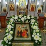 Праздник Сретения Господня в храме Знамения в Кунцеве