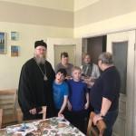 Настоятель храма Знамения епископ Ипатий посетил подшефный приходу Центр содействия семейному воспитанию