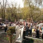 Миссионерские мероприятия в храме Знамения в Великую Субботу