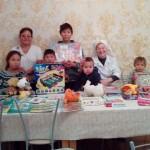 Приход храма Знамения оказал социальную помощь чукотской многодетной семье