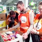 Социальная служба храма Знамения в Кунцеве приняла участие в общегородском продовольственном марафоне «Корзина доброты»