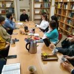 7 декабря в храме Знамения состоялась очередная Библейская беседа