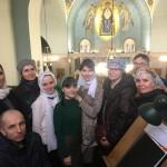 21 декабря в храме Знамения в Кунцеве состоялась Божественная литургия с участием молодежного хора