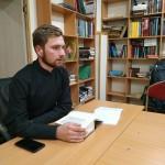 23 ноября в храме Знамения иконы Божией Матери в Кунцеве состоялась Библейская беседа на книгу «Бытие»