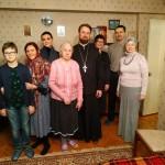 Поздравление с Рождеством Христовым подопечных социальной службы храма Знамения