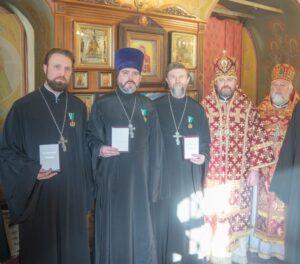 Священники храма Знамения удостоены патриаршей награды