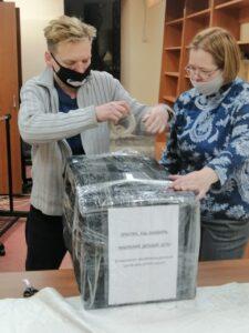 Социальная служба «Милосердие» храма Знамения продолжает отправку гуманитарной помощи в регионы