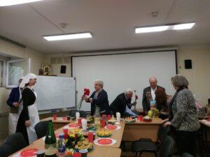 6 мая в храме Знамения состоялась встреча с ветеранами