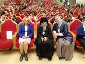 Помощник настоятеля Ольга Вячеславовна Кривцова приняла участие в X Общецерковном съезде по социальному служению