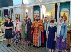 5 июня состоялась литургия с участием молодежного хора